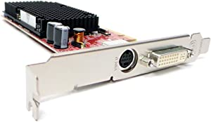 Dell HJ513 ATI Radeon X1300 128MB DVI S-Video PCI-E Video Graphics Card Compatible Part Numbers: HJ513, NP720