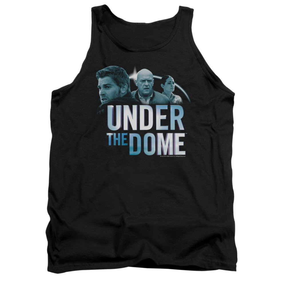 Under The Dome Character Art Adult Tank Top T-shirt