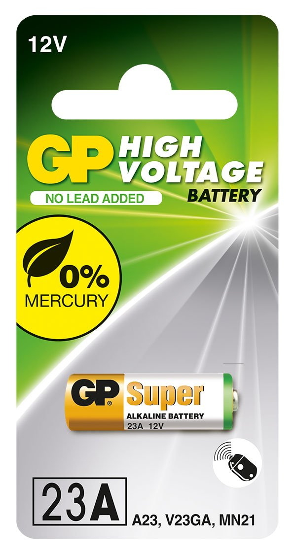 GP Batteries 23A 12 V High Voltage Alkaline Battery  Amazon.co.uk  Health    Personal Care baaae8162f550
