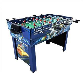 AMAIRS Mesa De Futbolín, Mesa De Juego Combinada Multijuego Compacto 4 En 1 Que Incluye Futbolín/Billar/Hockey/Tenis De Mesa para Adultos/Niños: Amazon.es: Deportes y aire libre