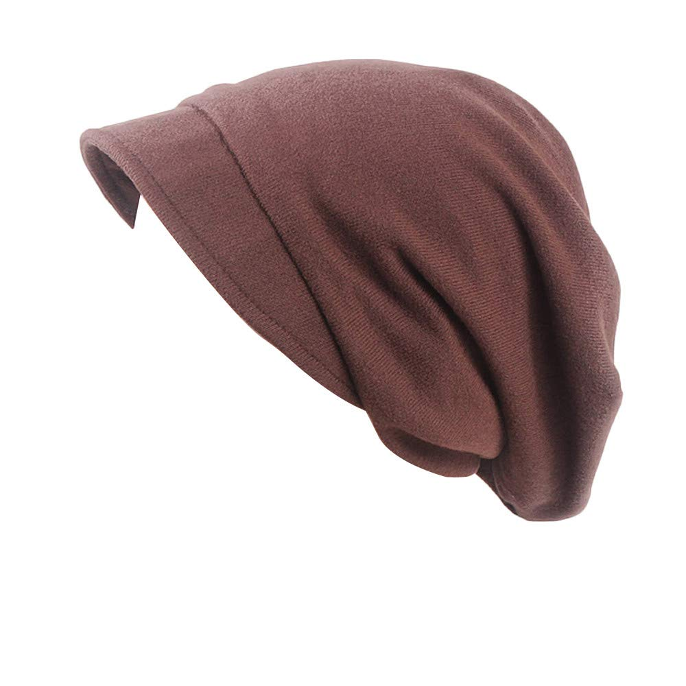 Elecenty Cappellino Slouchy da sci in morbido cashmere da donna Autunno e Inverno Cappelli outdoor