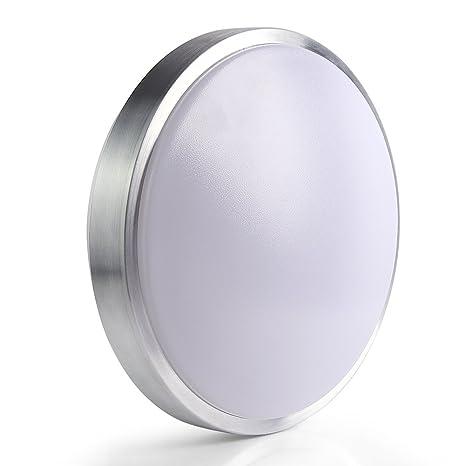 Lineway Lámpara LED de Techo, Plafón de Techo LED con Sensor de Movimiento, Luz