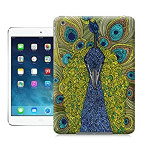LarryToliver Animal painting patterns Mr. Pavo Real case battery cover for ipad mini