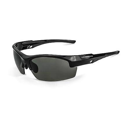 0b77f42536 Crossfire Eyewear 4061 Crucible Smoke LENS   Shiny Black Frame ...