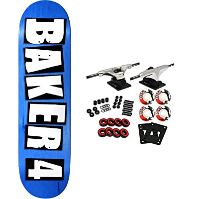 """Baker Skateboard Complete 4 8.75"""" (Assorted Colors) : Sports & Outdoors"""