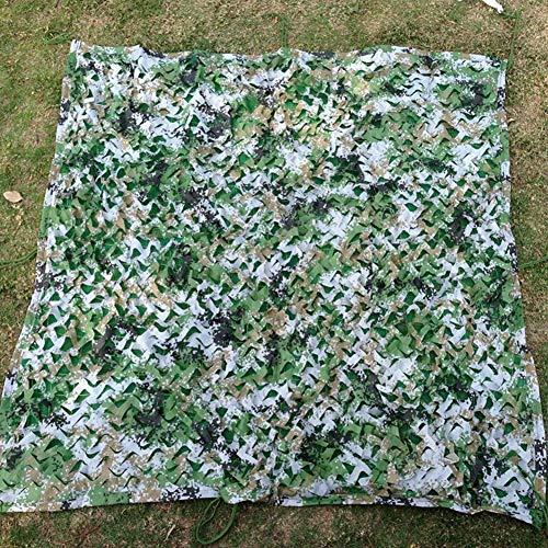 郵便番号菊みがきますLIXIONG シェーディングネット 日除け シェード 日焼け止め 緑化 カモフラージュネット 通気性のある キャンプ ジャングル 抗UV 折りたたみが簡単 サイズはカスタマイズ可能です 、2つのスタイル (色 : Jungle camouflage, サイズ さいず : 5.8 x 9.8m)