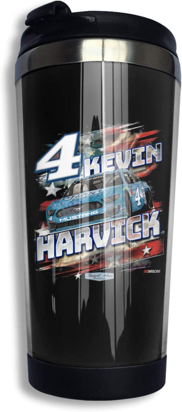 FGHFGHF Kevin Harvick Cup,Stainless Steel Vacuum Insulated Double Wall Travel Mug Tumbler Bulk, Insulated Coffee Mug for Outdoor, Office, Ice Drink, Hot Beverage