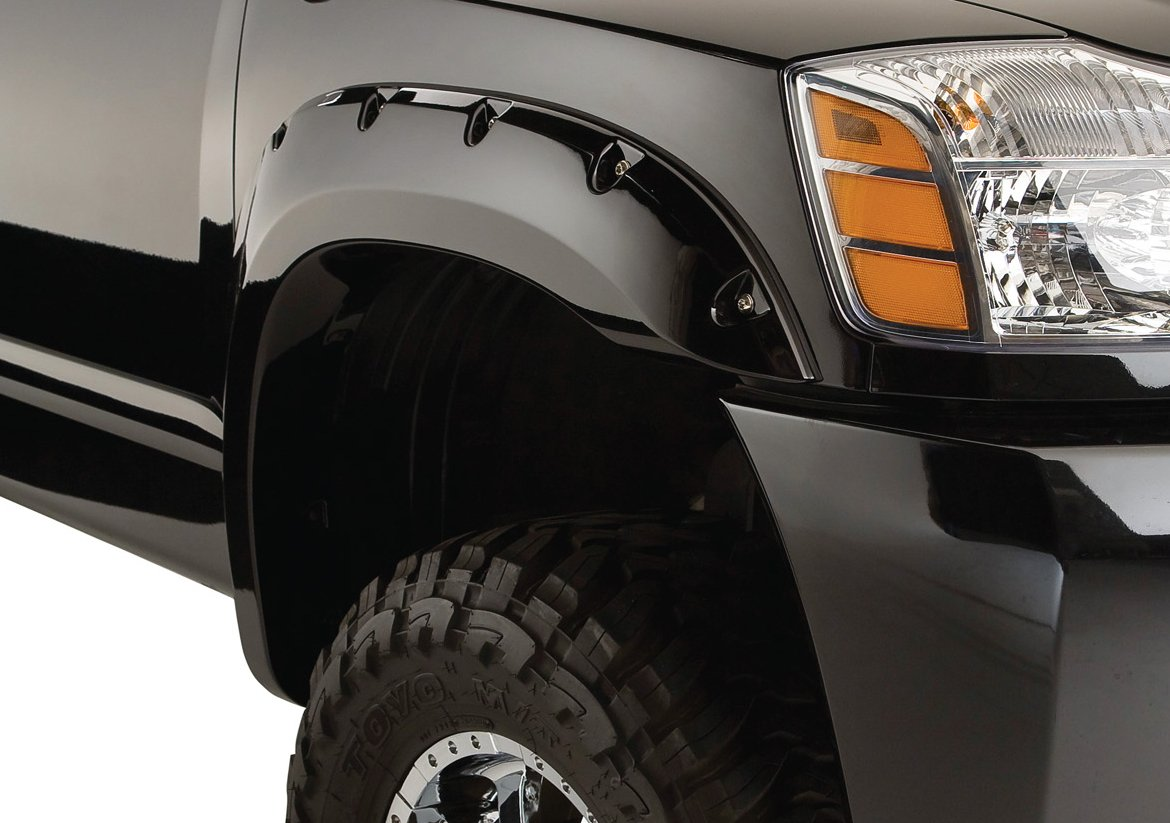 Bushwacker Nissan Pocket Style Fender Flare Set Of 4 Flares