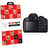 Scratchgard Ultra Clear Protector Screen Guard for Canon EOS 1200D
