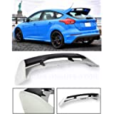 Extreme Online Store for 2013-Present Ford Focus Hatchback Models | EOS RS Style Rear Roof Wing Spoiler (ABS Plastic…