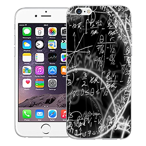 "Mobile Case Mate iPhone 6 4.7"" Silicone Coque couverture case cover Pare-chocs + STYLET - Algebra pattern (SILICON)"