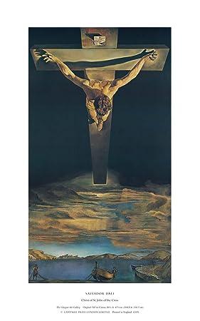 Lamino, Cristo de San Juan de la Cruz de Salvador Dalí, Papel artístico
