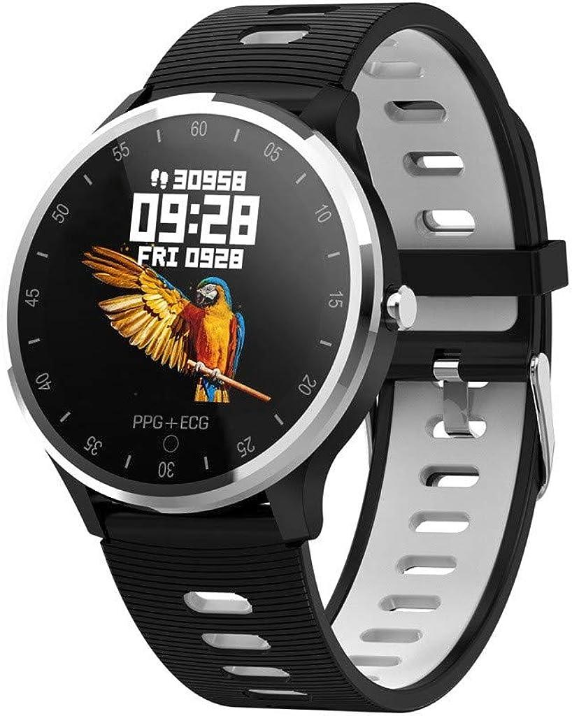 Reloj Inteligente, Reloj Deportivo con altímetro/barómetro/termómetro y GPS Incorporado, rastreador de Fitness para Correr, Senderismo y Escalada,Reloj Corriendo para Hombres