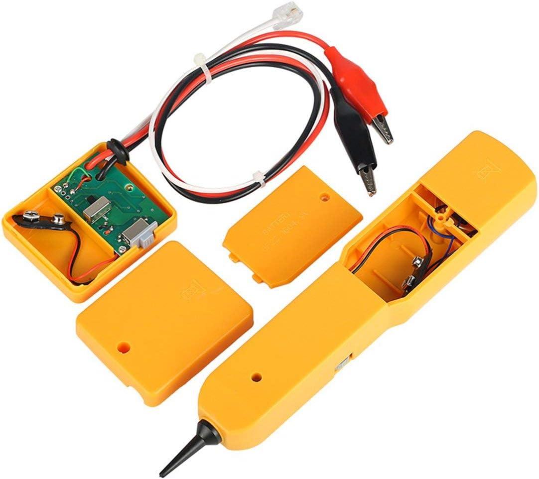 Rilevatore di toner Toner Cavo telefonico di rete RJ11 Tester Tracker Diagnostica Tone Line Finder Tracer Detector Strumenti di rete Kaemma