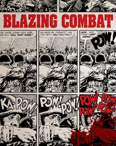 Blazing Combat by Fantagraphics