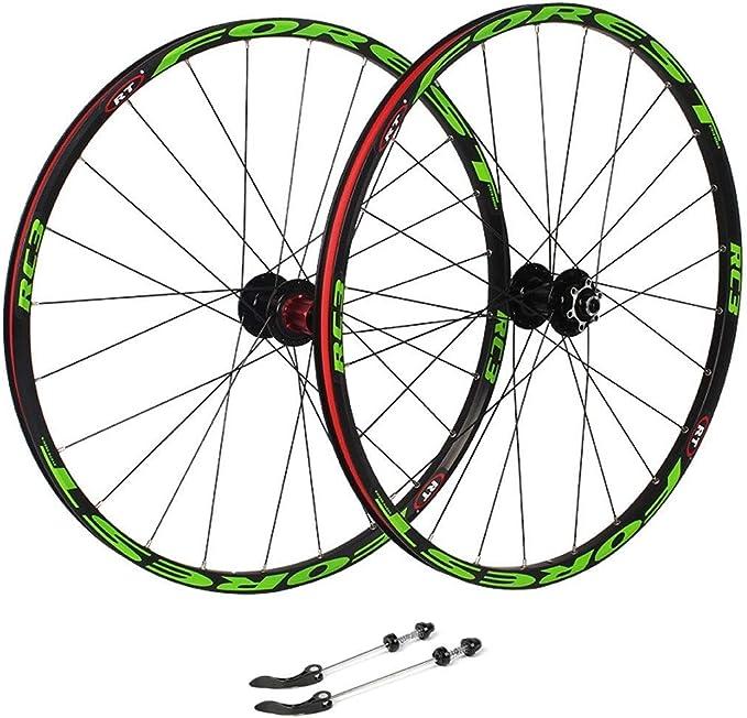 ZNND Ruedas De Bicicleta 26, Ciclismo Wheels Pared Doble Llanta De ...