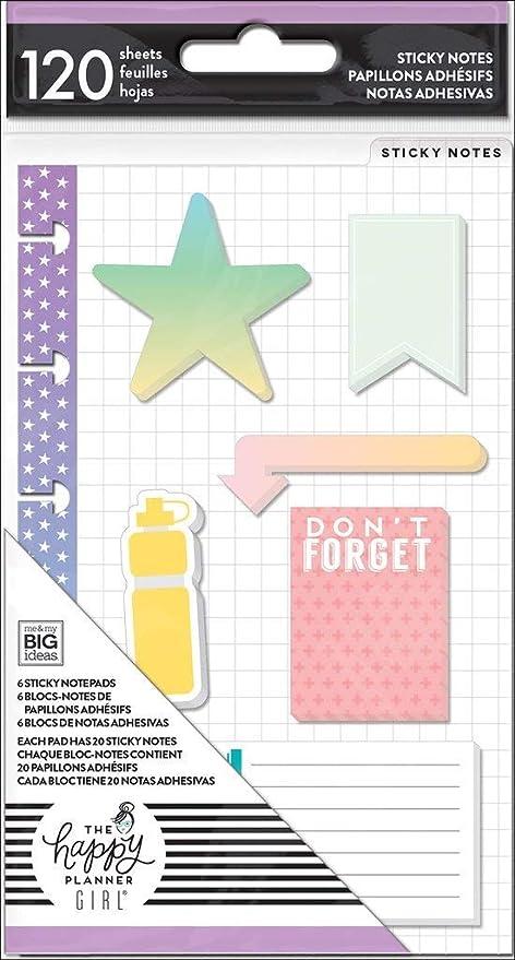 Me /& My Big Ideas Mini Happy planificador saludable héroe bolsillo carpetas folm 08