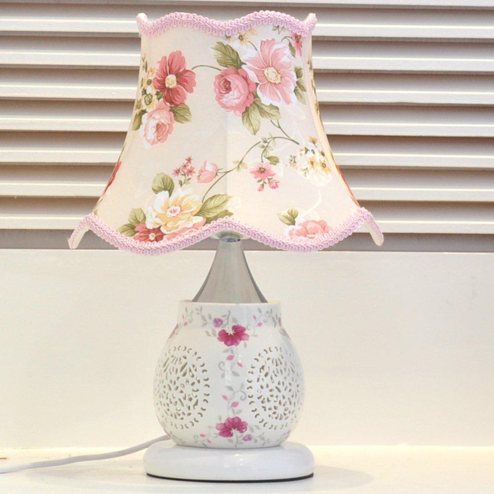 Europäische Tischleuchte Schlafzimmer Bett Lampe Princess,Pastorale Einfachheit,Modernen Ideen,Hochzeit Dekorative Dekorative Dekorative Tischleuchten-A Dimmer switch B071Z3X219 | Qualität Produkt  9d8bc3