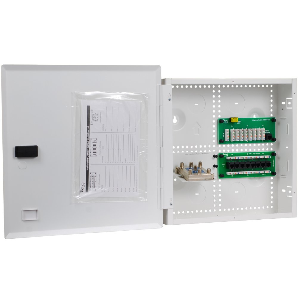 Icc 14 Combo Voice Data Video Structured Wiring Enclosure Components Of A System Electrical Boxes