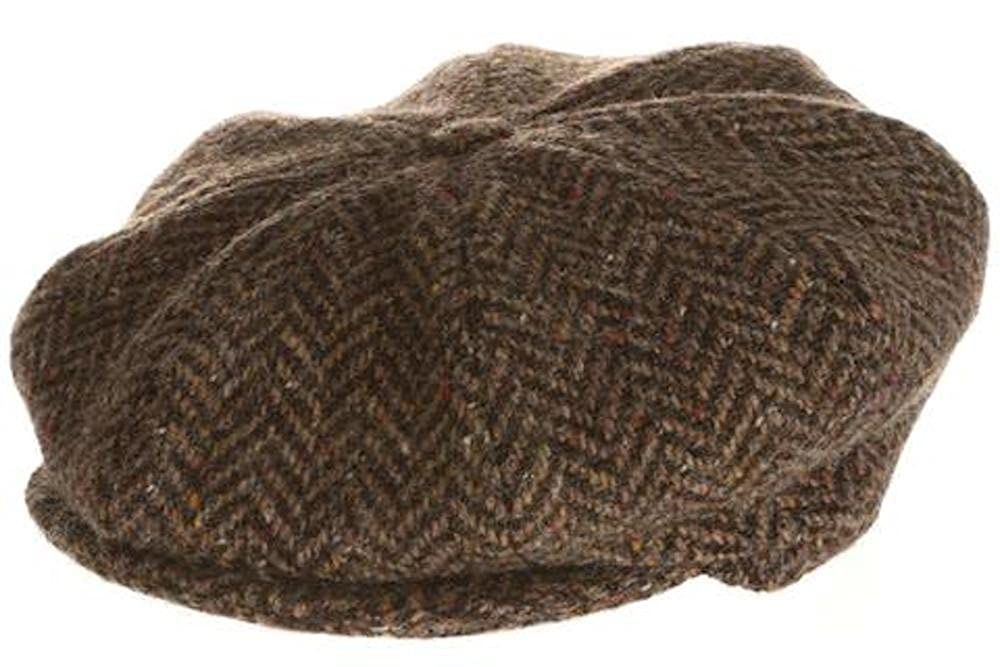 Hanna Hats Men s Donegal Tweed 8 Piece Cap Newsboy Cap at Amazon Men s  Clothing store  814227de116c
