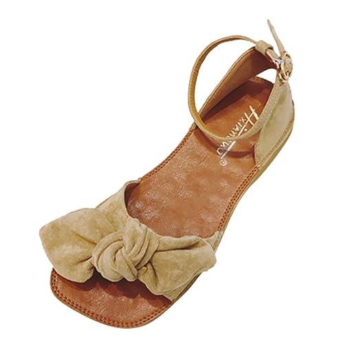 b233b4725 {Minikoad} Women Flat Sandals,Ladies Bohemia Leisure Peep-Toe Outdoor Shoes  (