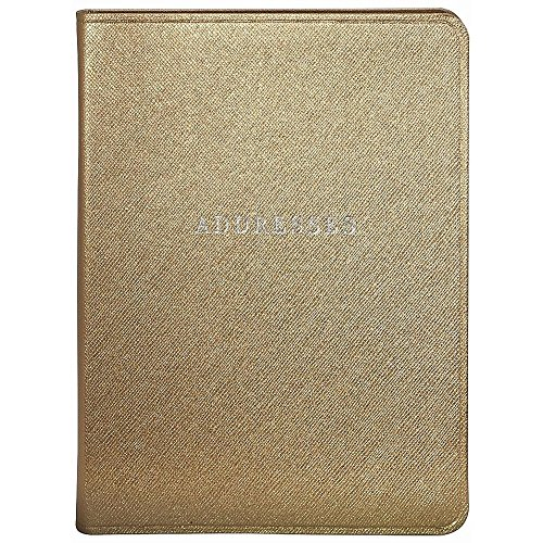 Gold Eco-Leather Address Book by Graphic Image™ -