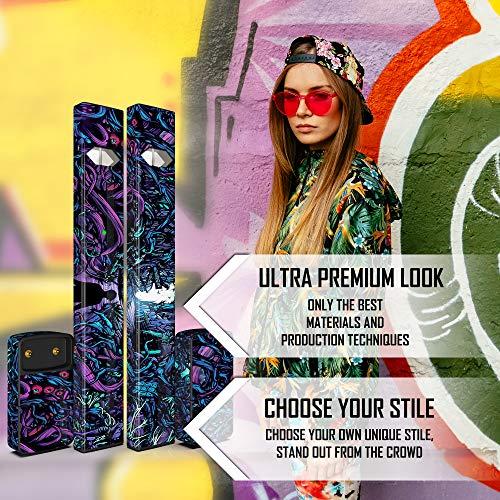 JUUL Skin - JUUL Wrap - JUUL Decal - JUUL Cover - JUUL Starter Kit Stickers  - Pax JUUL Skin for Device Charger Pods - Original JUUL Vape Pen