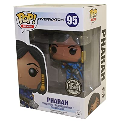 Funko POP! Games Pharah Overwatch Blizzard Exclusive #95 Vinyl Figure: Toys & Games [5Bkhe1105744]