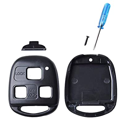 fits Lexus Case Shell Key Fob Keyless Entry Remote (Cutting Not Required): Automotive [5Bkhe0412497]