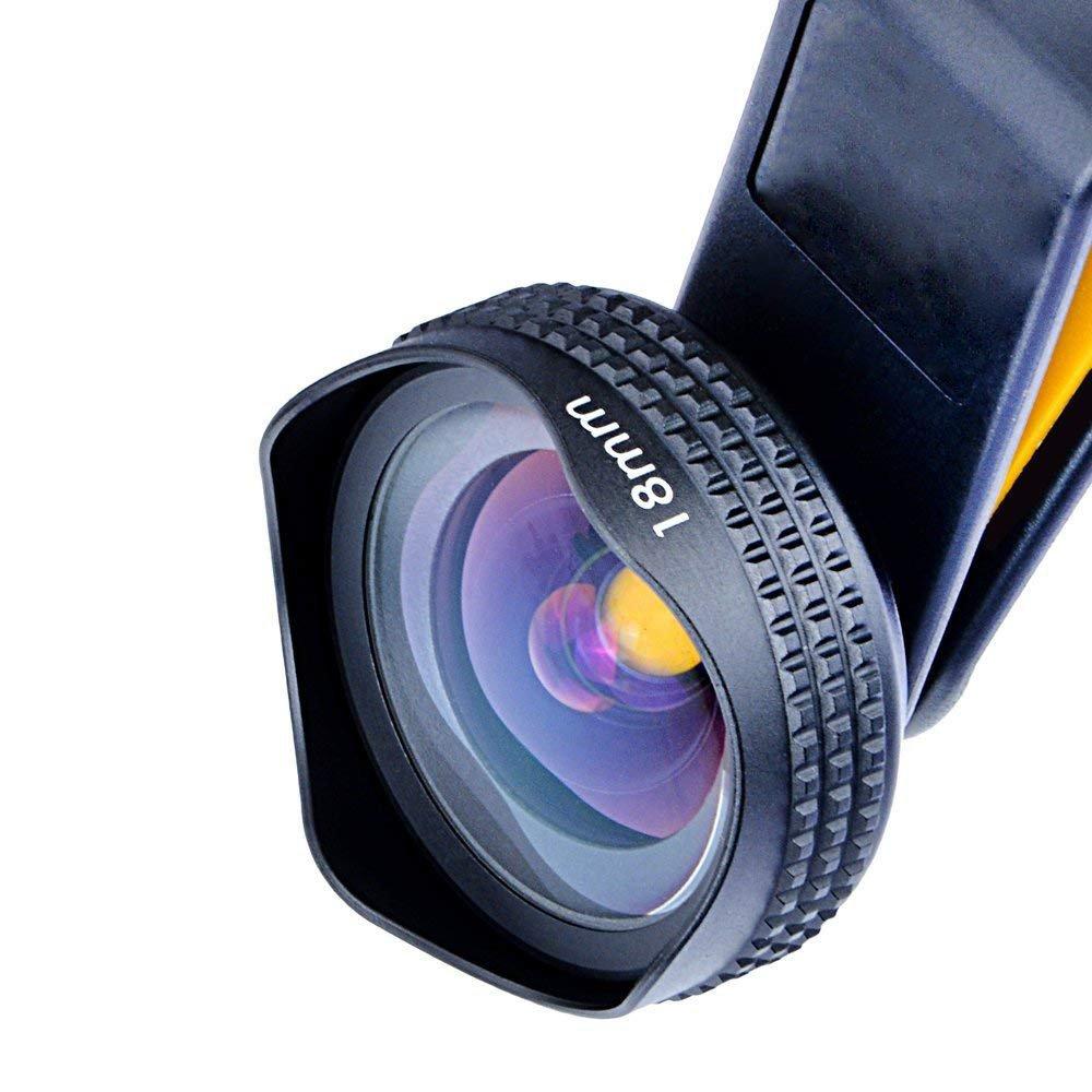 Nanle HD Wide-angle Camera Lens kits (No Distortion, No Dark Circle,2x More Landscape)