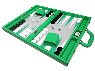 Set Premium Backgammon 40 x 53 cm - Verde