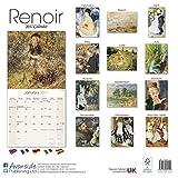 Renoir Calendar - Calendars 2016 - 2017 Wall Calendars - Art Calendar - Renoir 16 Month Wall Calendar by Avonside
