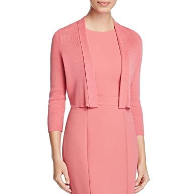 ea8bb36a Hugo Boss BOSS Womens Fern Cropped Open Front Cardigan Sweater at Amazon  Women's Clothing store: