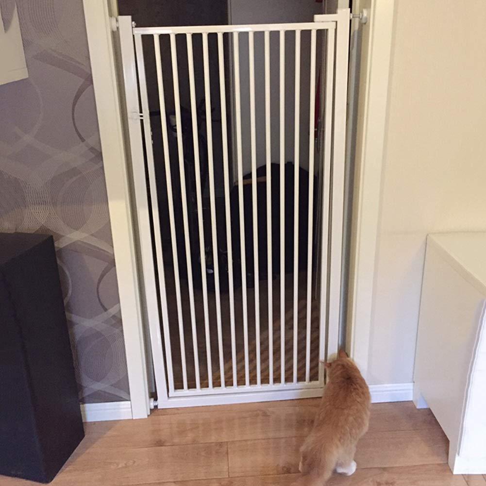 Pressure Mount Baby Gate Security Kids Pet Dog Cats Door Bar Blockade No Entry