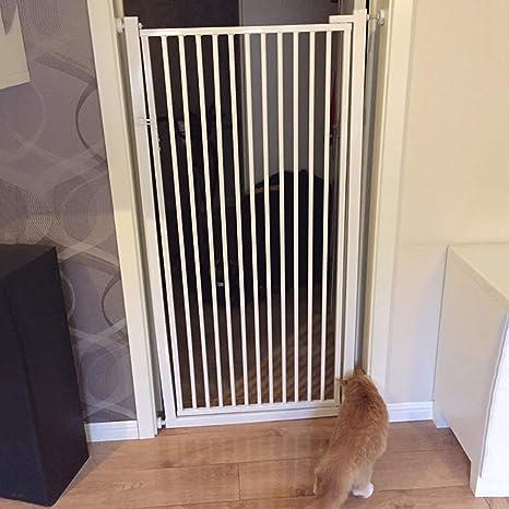 UK Child Baby Pet Safety Stair Gate Safety Lock Walk Thru Door Extra Wide Tall