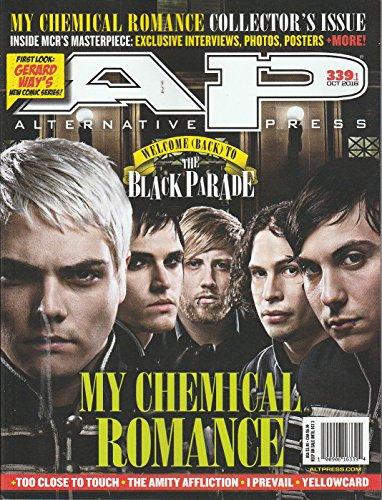 Alternative Press Magazine October 2016 My Chemical Romance