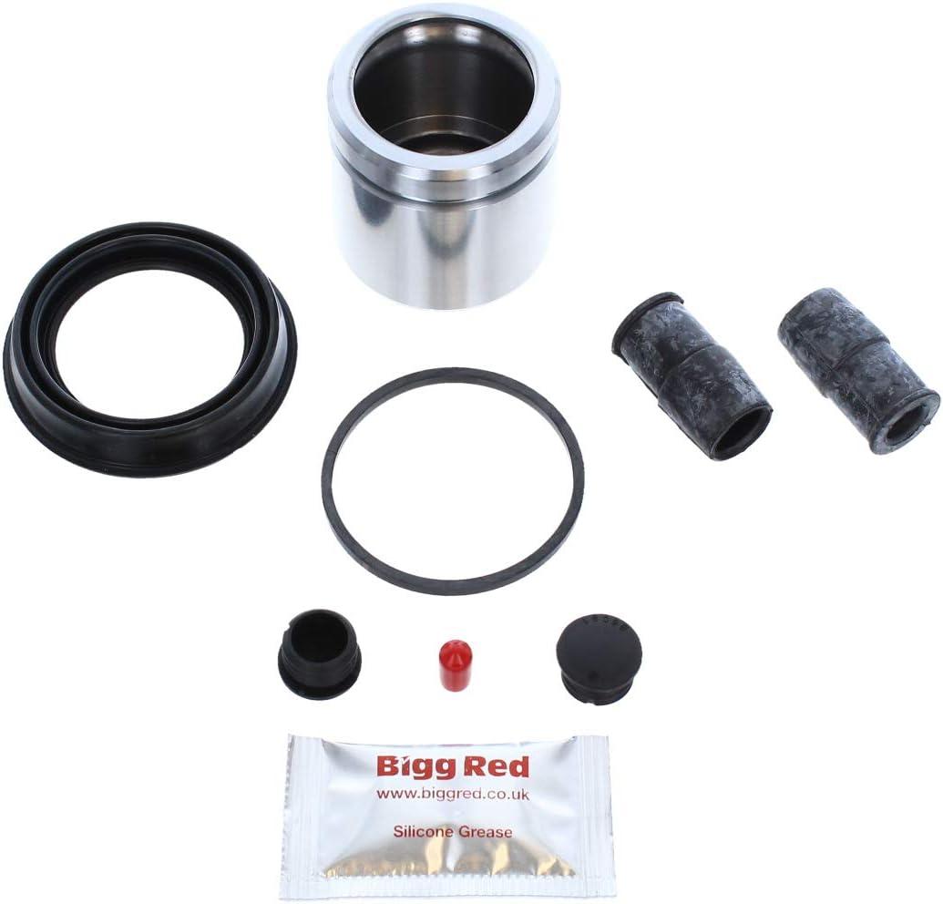 BRKP134S Front Brake Caliper repair seal kit /& piston
