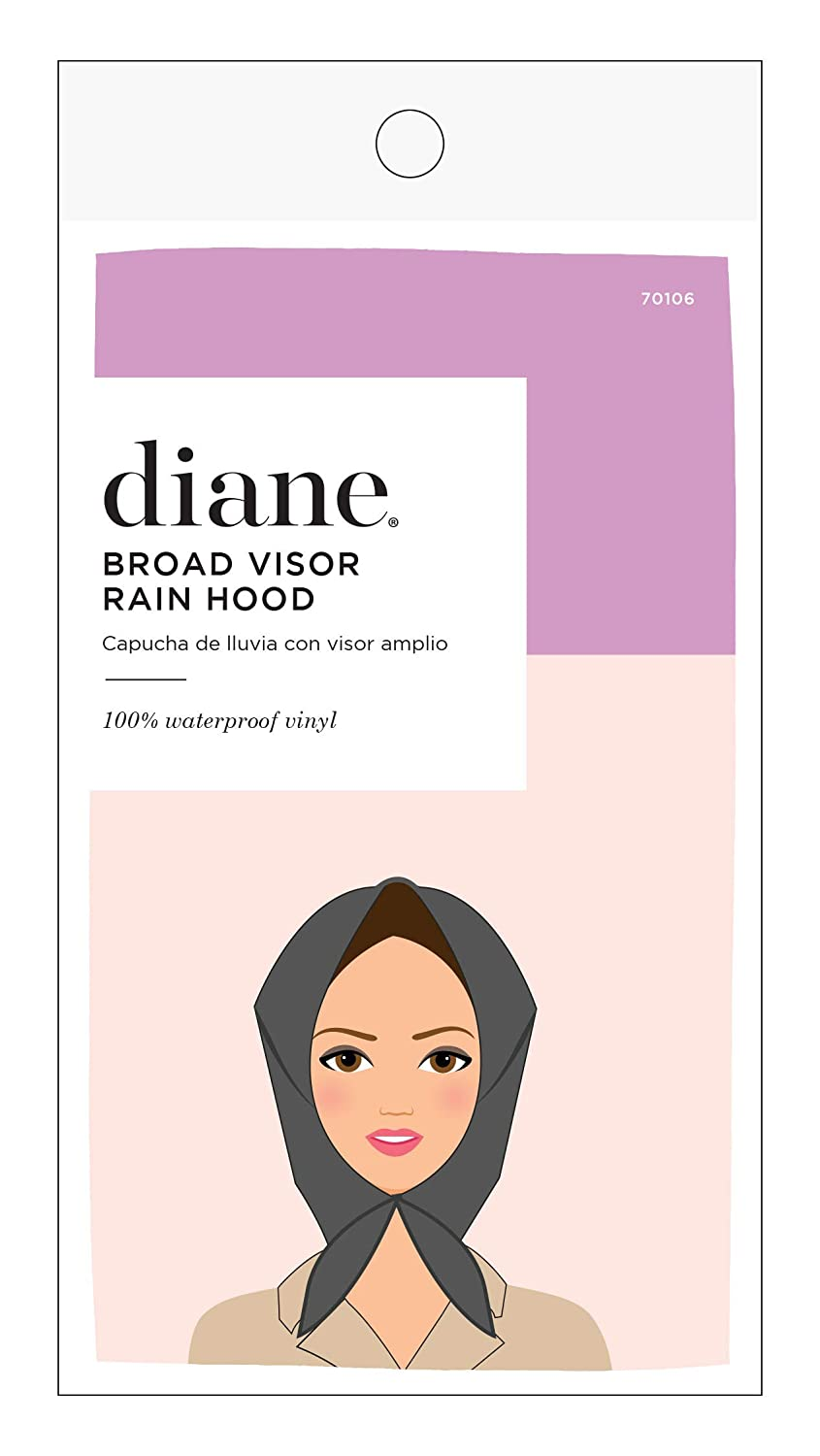 Diane Broad Visor Rain Hood: Beauty