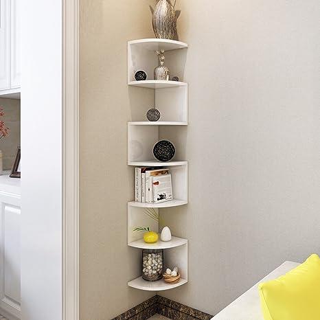 Mensola a muro fai da te soggiorno parete camera da letto angolo ...