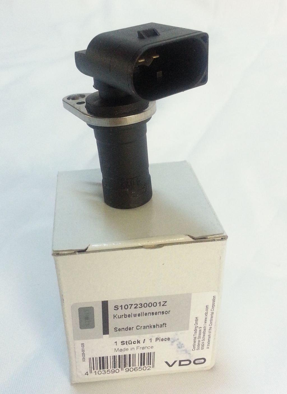 Vdo S107230001Z Gé né rateur d'impulsions d'allumage, arbre moteur Continental Trading GmbH