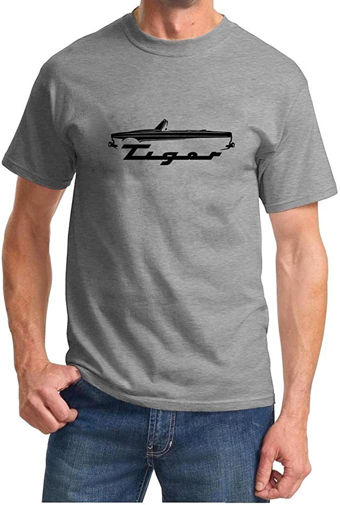 Maddmax Design Sunbeam Tiger Classic Car Outline Design Tshirt