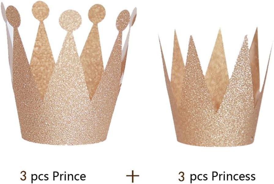 6X Unicorn Theme Paper Caps Hats For Kids Birthday Wedding Party Decor