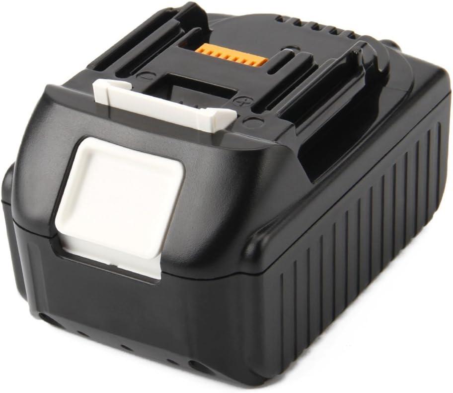 Exmate 18V 5.0Ah Bater/ía para Makita BL1830 LXT400 BL1850 BL1815 BL1840 194205-3