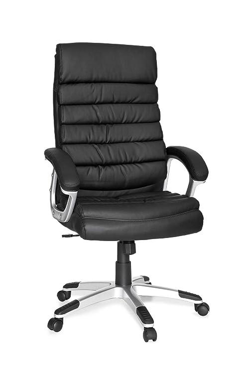 KS-Furniture Valencia - Silla de Oficina (Piel sintética ...