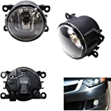 Platinum 19B00901T1 Front Right Driver Side OS Fog Light Lamp Replacement
