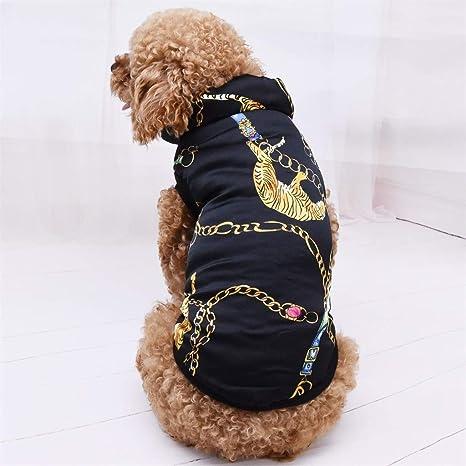 Dkings Mascota Traje Sudadera con Capucha Abrigo para Perros ...