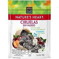 Nature's Heart, Ciruela Pasa Sin Hueso - Nature's Heart - 500g, 500 gramos