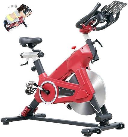 KuaiKeSport Bicicleta Spinning Profesional,Bicicleta Estática de Fitness con Pantalla LCD y Sensores de Pulso en Manillar,Bici Spinning Bicicleta Gimnasio Manillar y Asiento Ajustables: Amazon.es: Deportes y aire libre