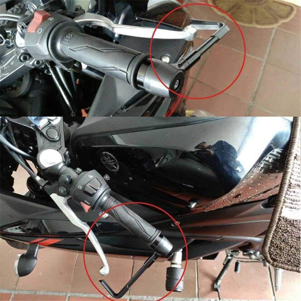 Paramani da 7//8 per Moto Mylujo Sistema di Protezione Leva Freno e Frizione