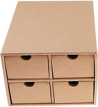 FLAMEER Caja de Almacenaje para Botella de Pintura Organizador de Cajones de Cartón: Amazon.es: Juguetes y juegos